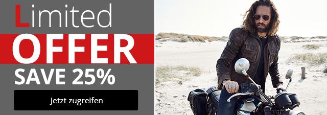 Limited Offer - Spare 25% Nur für kurz Zeit!